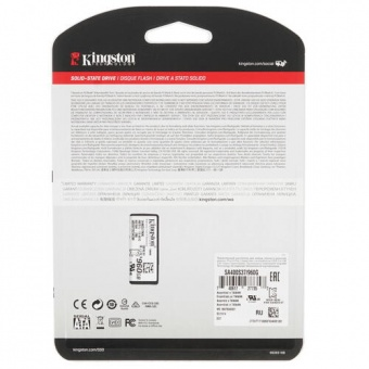 "Винчестер SSD 2.5"" 960GB Kingston A400 SA400S37/960G"